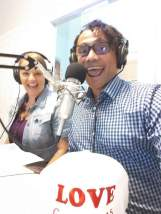AponteSierra during a radio show about sexual health, condom use and Pre-Exposure Prophylaxis. PrEP is a once-a-day pill for people who do not have HIV and want added protection.