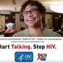 AponteSierra as one of the eight latinos selected nation wide for a National Campaign for HIV Prevention