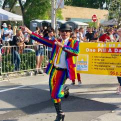 AponteSierra Leading Stonewall Pride Parade with Florida Department of Health in Broward County